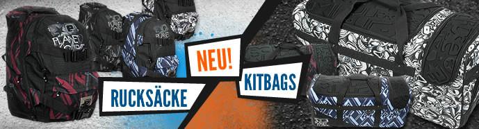 NEU! Kitbags und Rucksäcke von Planet Eclipse