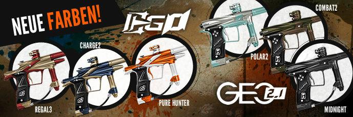 Neue Farben - Ego11 und Geo 2.1