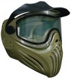 Paintball Maske Vents Helix thermal oliv