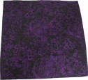Planet Emortalis Bandana Schwarz/Purple