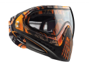 Paintball Maske Dye I4 PRO Invision Orange Tiger