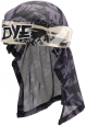 Dye Grey Tiger Head Wrap