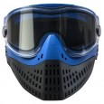 Paintball Maske Empire E-Flex blau