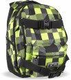 Rucksack Eclipse Gravel Pack Plaid Lime