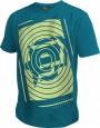 T-Shirt Planet Mens Spiro türkis
