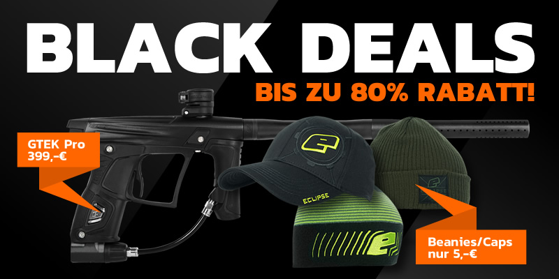 Paintball.de Black Deals!