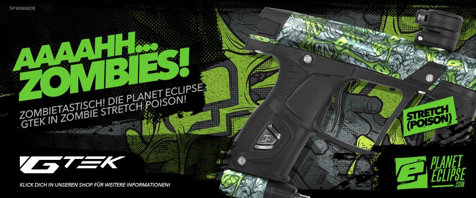 Planet Eclipse GTEK Zombie Stretch Poison grün