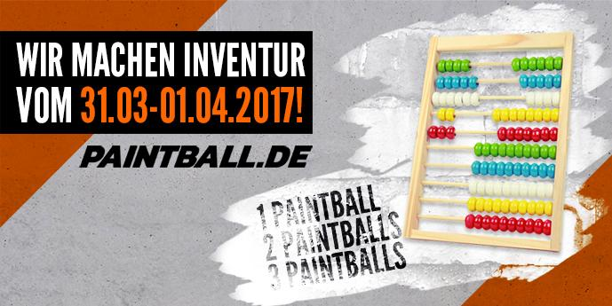 Paintball.de Inventur 2017