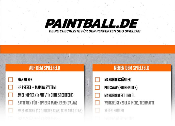 Paintball.de SBG Checkliste