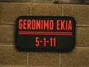 Patch Geronimo EKIA glow in the dark