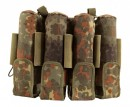 9 Pot (5+4) pt-field Rebel Pack Flecktarn Molle camo unisize