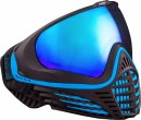 Paintball Maske Virtue VIO Contour Black Ice schwarz/türkis