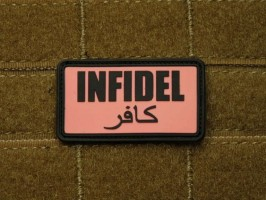 Patch Infidel pink black