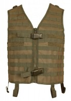 Paintball Weste pt-field Molle oliv