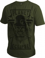 T-Shirt Planet Mens Prism oliv