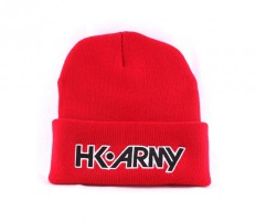 HK Army Typeface Beanie rot