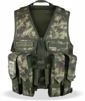 Paintball Weste Planet Load Vest HDE camo