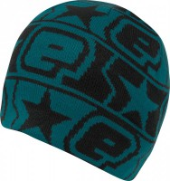 Planet Quest Night Beanie schwarz / blau